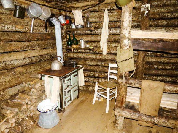 interno del bunker la buca sulla linea gotica a pianosinatico